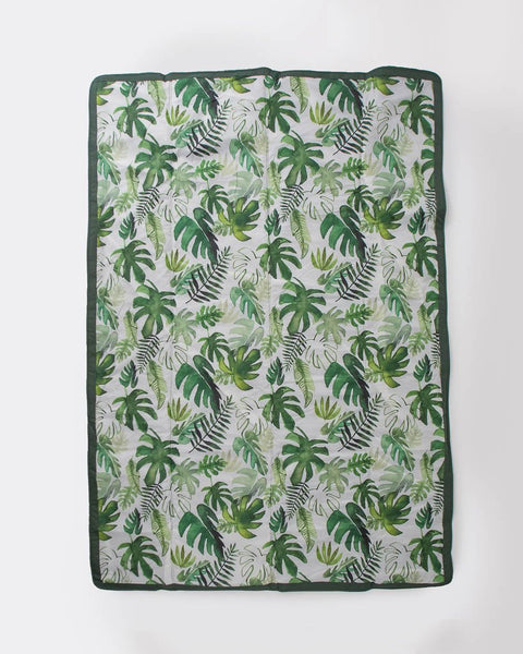 Outdoor Blanket | Tropical Leaf