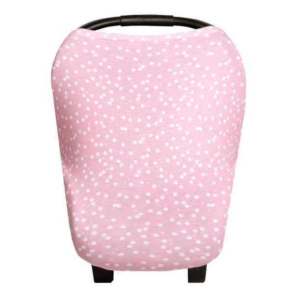 Multi Use 5 in 1 Baby Cover | Pink Dot