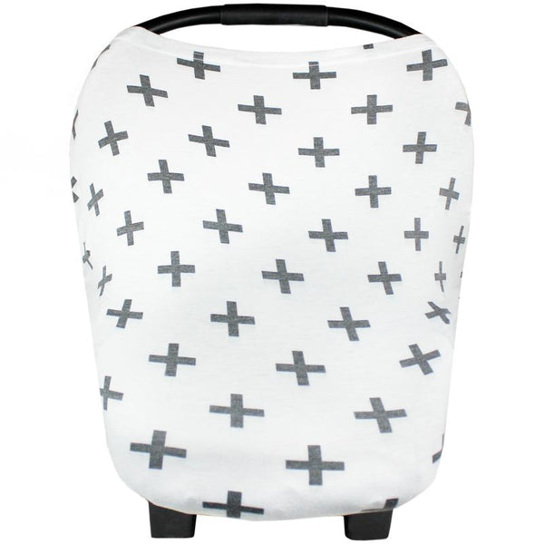 Multi Use 5 in 1 Baby Cover | Swiss Cross