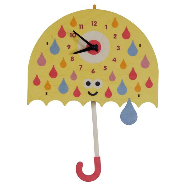 Pendulum Clock | Umbrella - Pendulum Clocks - Poshinate Kiddos Baby & Kids Boutique - adorable smiling Umbrella pendulum clock