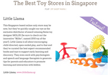 Little Llama is one of Singapore's Best Toy Stores!