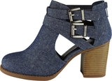 Dark Blue MJ Texture Denim#!1