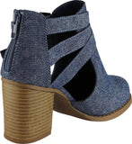 Dark Blue MJ Texture Denim#!4