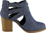 Dark Blue MJ Texture Denim#!5