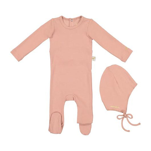 Zeebra Pink Ribbed Gift Set