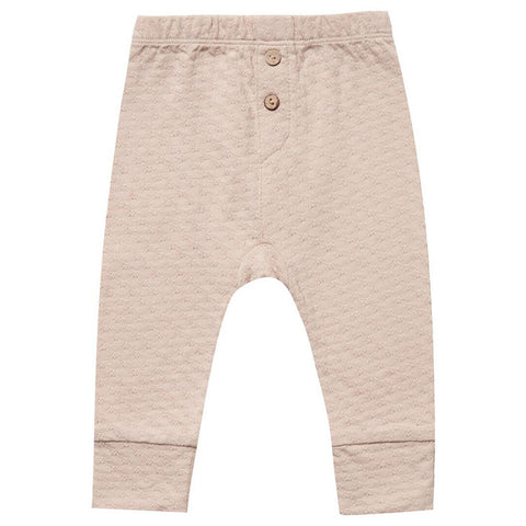 Quincy Mae Rose Pointelle Pajama Pants