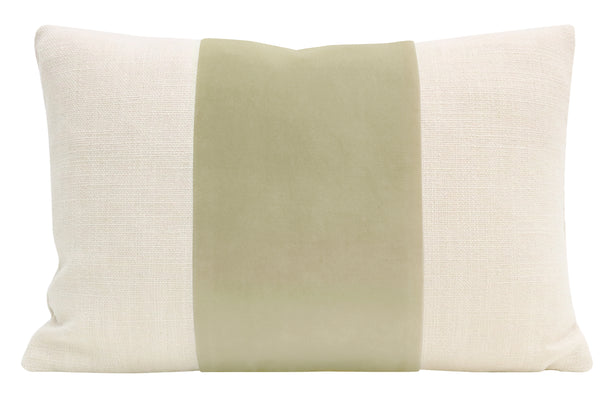 The Little Lumbar :: PANEL Classic Velvet // Sage