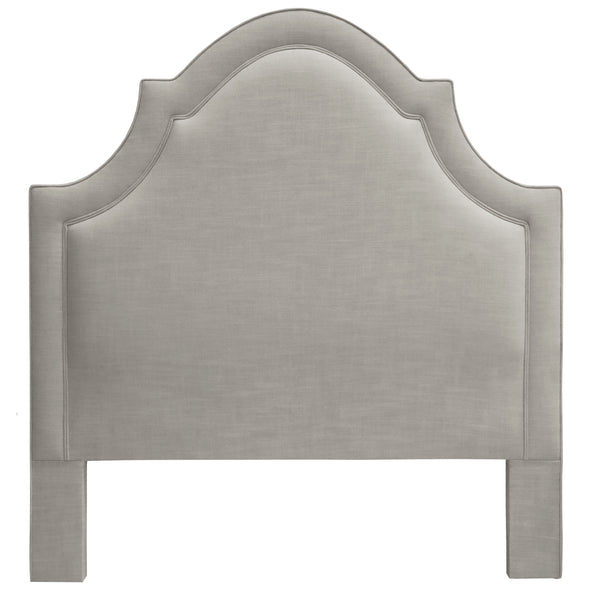 THE PLAZA HEADBOARD : Signature Linen // Grey
