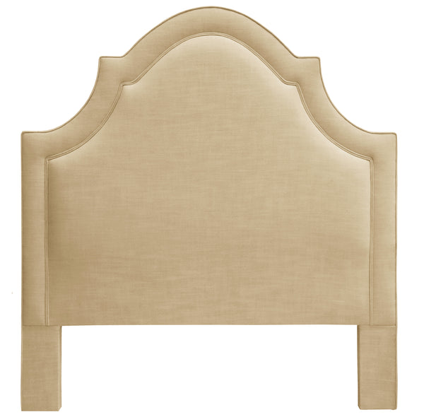 THE PLAZA HEADBOARD : Signature Linen // Natural