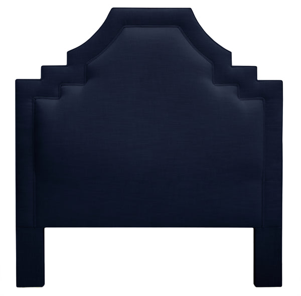 THE SOHO HEADBOARD : Signature Linen // Navy Blue