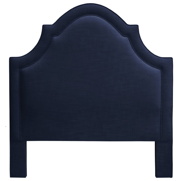 THE PLAZA HEADBOARD : Signature Linen // Navy