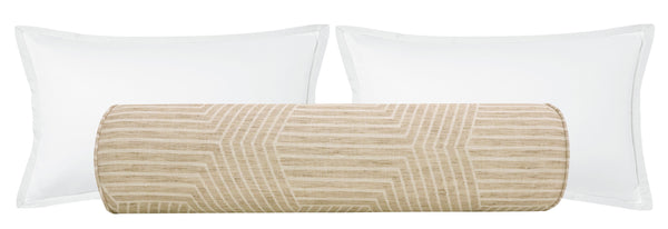 The Bolster :: Labyrinth Linen // Natural