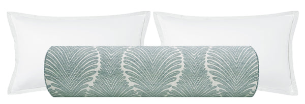 The Bolster :: Musgrove Chenille // Spa Blue