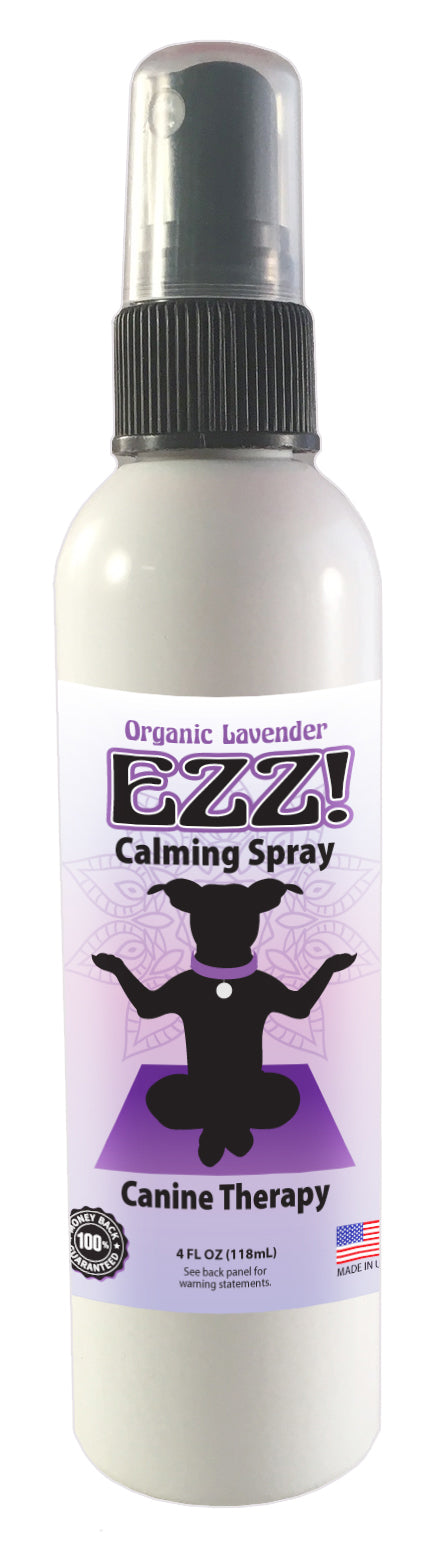 Organic Lavender Ezz Calming Spray (Canine Therapy), 4 oz.