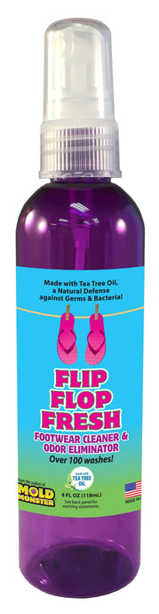 Flip Flop Fresh - Footwear Cleaner and Odor Eliminator, 4 oz. bottle