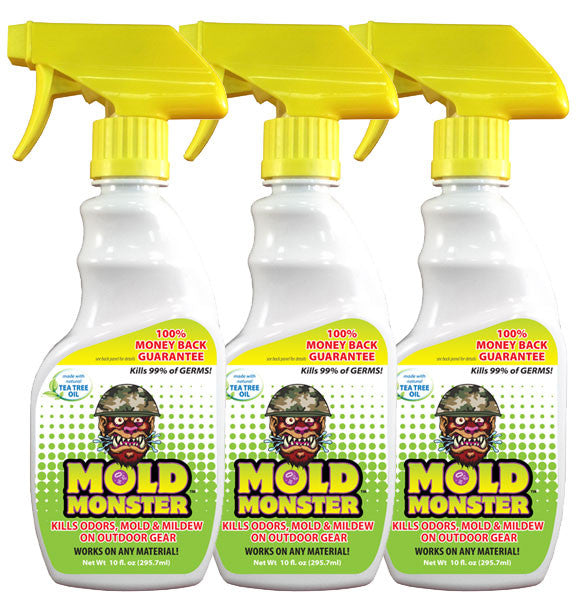 Outdoor Mold Monster, 3 Pack of 10 oz. Bottles