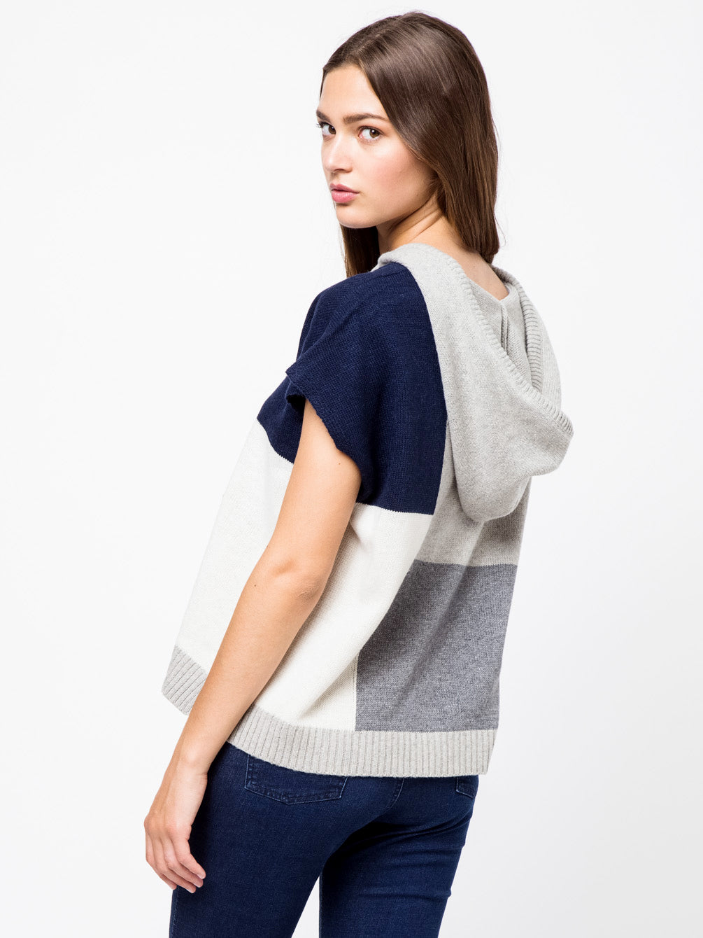 Color Block Sweater