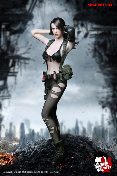 1/6 Scale Quiet Sniper MGS Outfit  by Mr. Toys