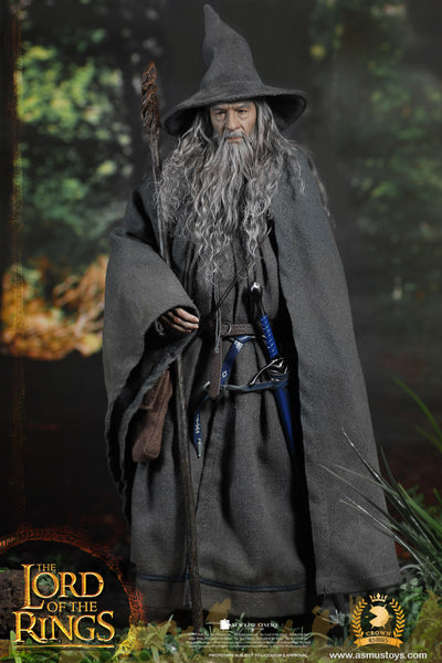 1/6 Scale The Lord of the Rings - Gandalf the Grey Figure (Crown Series) by Asmus Toys