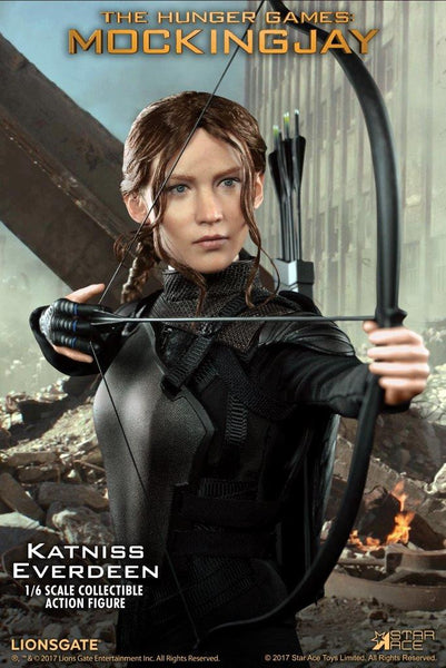 1/6 Scale The Hunger Games Mockingjay Katniss Everdeen Figure by Star Ace Toys