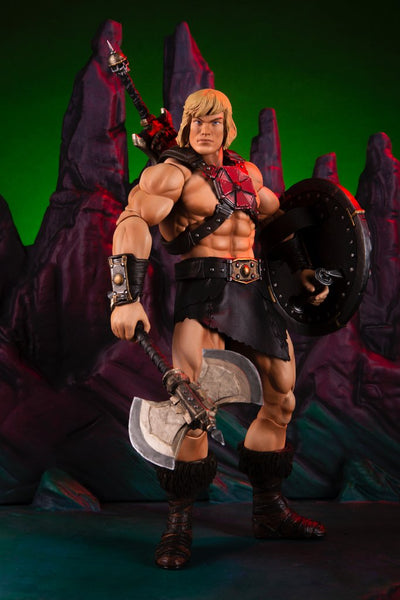 1/6 Scale He-Man Figure by Mondo