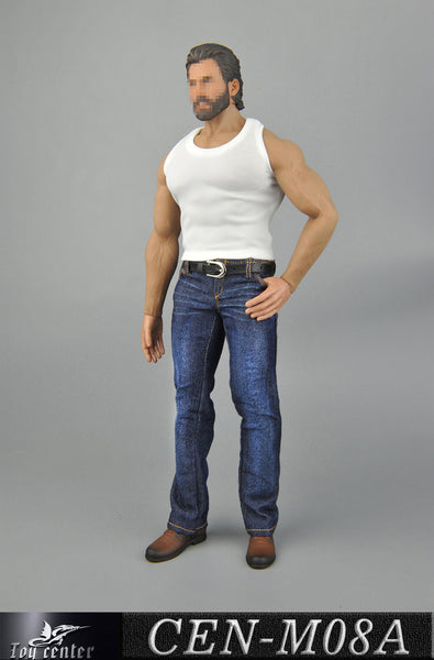 1/6 Scale Tank Top & Jeans Set (3 Colors) by Toy Center