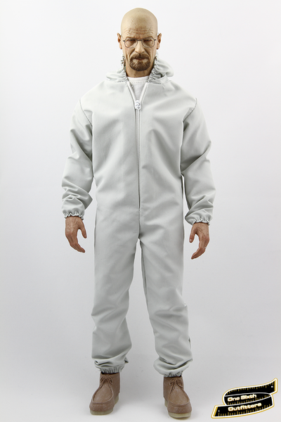 1/6 Scale Grey Hazmat Suit by One Sixth Outfitters