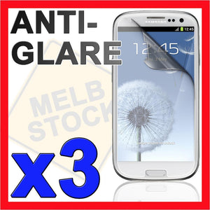 3x Anti Glare Matte LCD Screen Protector Film Guard for Samsung Galaxy S3 SIII