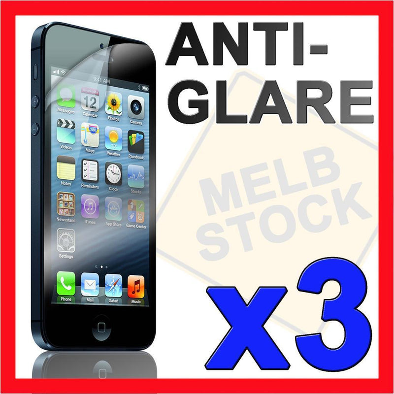 3 x Anti Glare Matte Screen Protector LCD Film Guard for Apple iPhone 5 5G IP5
