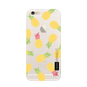 Pattern Fruit, Flower & Animal Clear Soft Gel Case for Apple iPhone 6 & 6S
