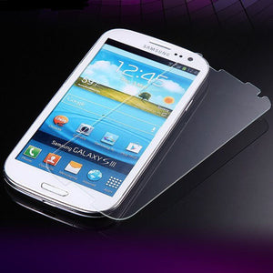 Tempered Glass Scratch Resistant Screen Protector for Samsung Galaxy S3