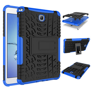 "Shockproof Heavy Duty Tough Armor Case Stand Cover for Samsung Galaxy Tab A 8.0"" T350 T355 Tablet"