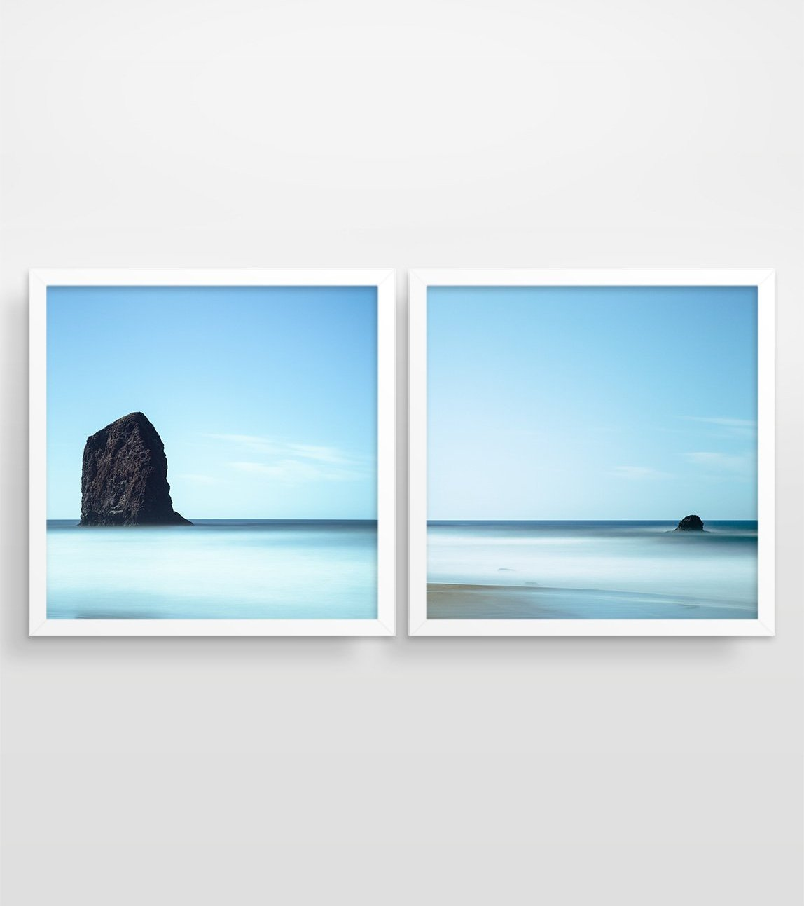 Rising from the Waves - Wall Art Print Set of 2
