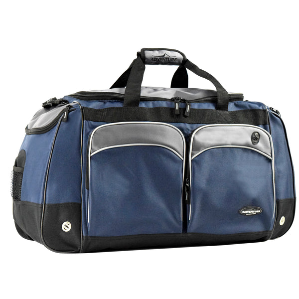 "Adventure 28"" Multi-Pocket Duffel with Wet & Shoe Pocket"