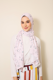 ( Ma Cherie ) Julia Round Awning Pinless Semi Instant Shawl