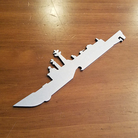 Frigate Oliver Hazard Perry Class FFG Bottle Opener - PLANEFORM