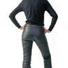 Davida-Black-Leather-Motorcycle-Riding-Jeans-Trousers-Womens-Ladies-3
