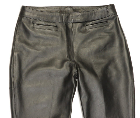 Davida-Black-Leather-Motorcycle-Riding-Jeans-Trousers-Womens-Ladies
