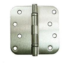 "Ball Bearing Door Hinges - 4"" with 5/8"" radius corners  - Multiple Finishes - 2 Pack"