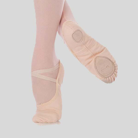 ANGELO LUZIO WENDY STRETCH CANVAS BALLET SLIPPER - CHILD #246C