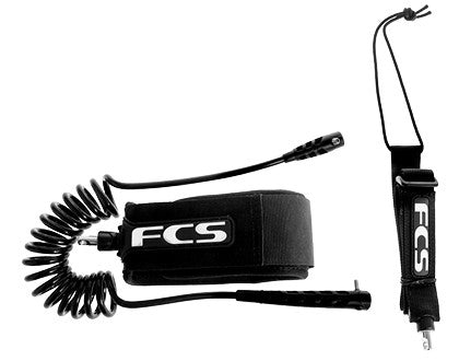 FCS SUP Adjustable Calf Racing Leash - Open Ocean Outrigger & SUP