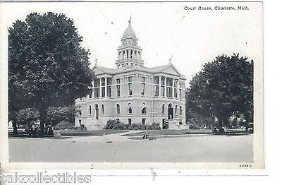 Court House-Charlotte,Michigan - Cakcollectibles - 1