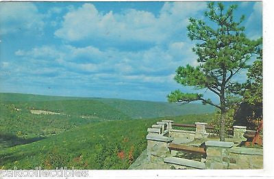 Lookout at Rim Rock State Park off State Route 59 east of Warren,Pennsylvania - Cakcollectibles