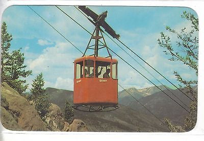 Aerial Skyway ascending Prospect Mt.-Estes Park,Colorado Colorado - 1