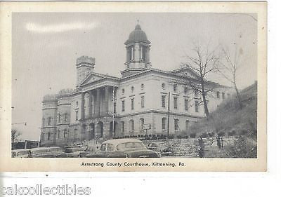Armstrong County Courthouse-Kittanning,Pennsylvania - Cakcollectibles - 1