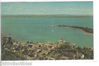 Aerial View of Harbor Springs,Michigan 1968 - Cakcollectibles - 1