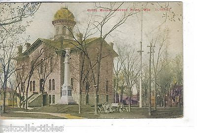 Court House-Stevens Point,Wisconsin - Cakcollectibles - 1