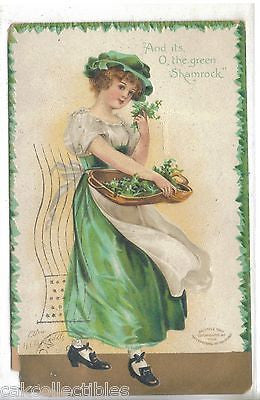 """And its,O,the Green Shamrock -Clappsaddle - Cakcollectibles - 1"