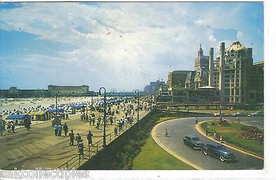 View over the beautiful Boardwalk in Atlantic City,New Jersey 1959 - Cakcollectibles