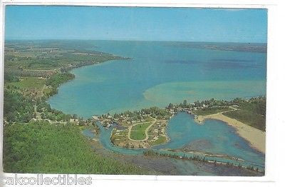 Aerial View of Torch Lake-Antrim County,Michigan - Cakcollectibles - 1